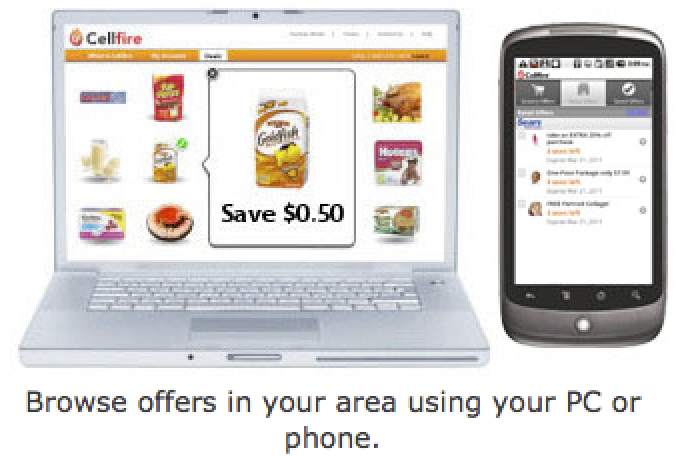 Cellfire Free Digital Coupons