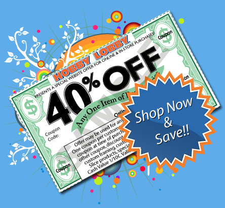 Hobby Lobby Coupon 40 Off Entire Purchase Hdfc Ebay Coupon October