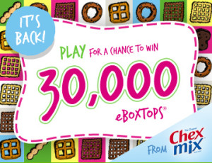 Box Tops for Education Chex Mix Game