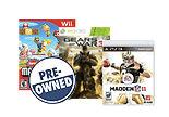 Best Buy B2G1 Free Pre-Owned Games