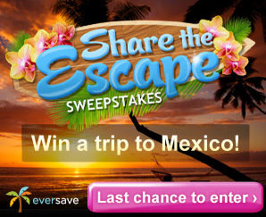 Share the Escape Sweepstakes