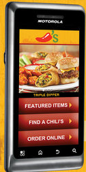 Free Android Smartphone at Chili's