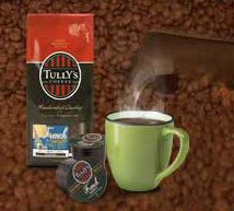 Free Tully's Coffe Sampler