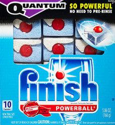 Finish Quantum Diswashing Detergent Free Sample