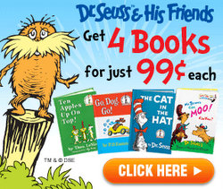 Doctor Seuss books for $0.99 each