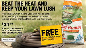Free Garden Hose at Home Depot