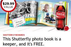 Free Shutterfly Book from My Coke Rewards