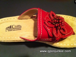 Clifford Carnation Sandals by White Mountain