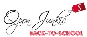 Back-to-School with Qpon Junkie 8/20