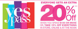 Kohl's 20% Off Printable Coupon