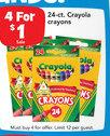 Cryaola Crayons 24 ct.