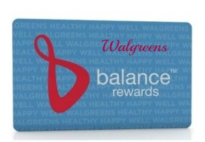 Walgreen Balance Rewards