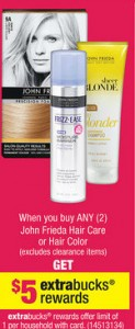 CVS John Frieda