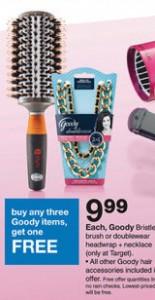 Goody Hair Items