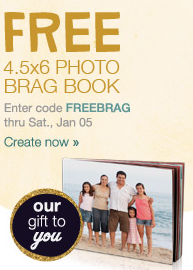 walgreens free photo brag book