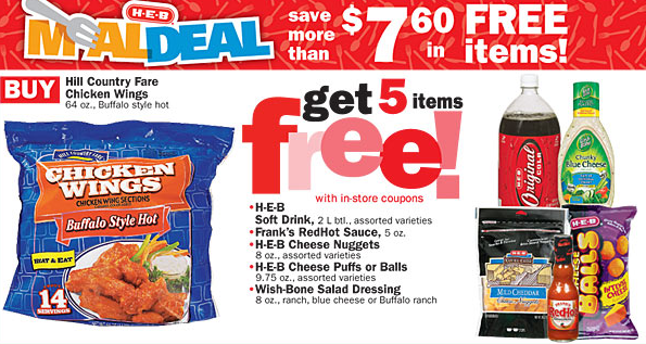HEB Weekly Ad & Coupon Matches 1/30-2/5
