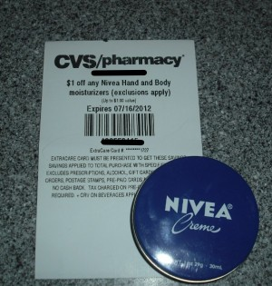 Free Nivea Tin at CVS