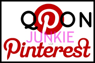 Visit Qpon Junkie on Pinterest