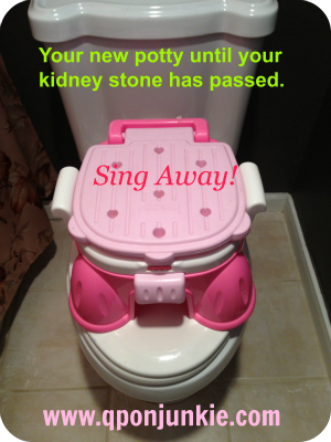Kidney Stone Singing Potty