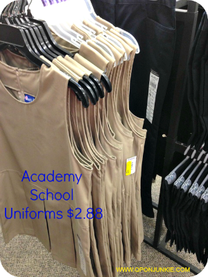 Academy School Uniform Clearance