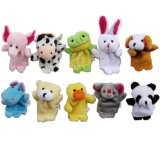 Velvet Animal Finger Puppets