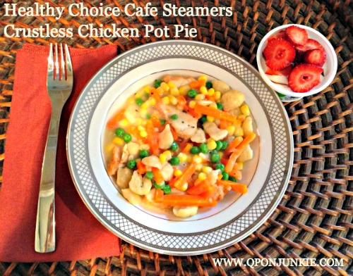 Healthy Choice Cafe Steamers Chicken Pot Pie