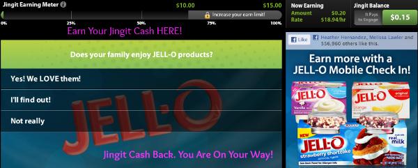 Jingit Cash Back