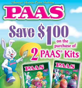 PAAS Easter Coupon
