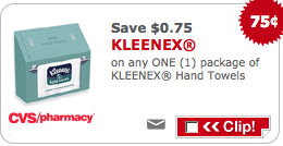 CVS Kleenex Coupon