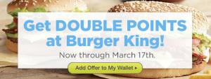 Burger King Plink Points