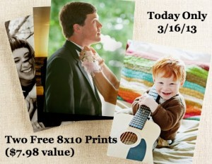 Free 8x10 Photo Prints at Shutterfly