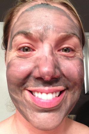 Qpon Junkie in Origin's Charcoal Mask