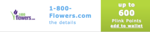 Double Points 1800 Flowers Plink Offers