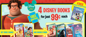 Disney Book Club $0.99 Each