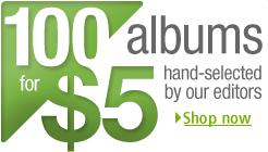 100 Albums $5 Each