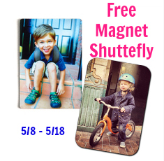 Free Magnet This Week Shutterfly $7.99 Value