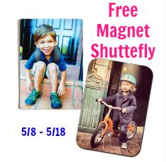Free Shutterfly Magnet