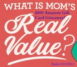 Giveaway $800 Amazon