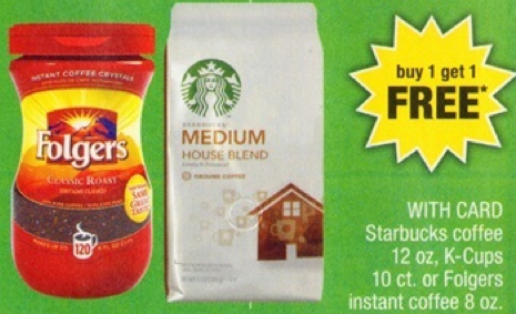 Starbucks K-Cups $3.49 10 ct. at CVS Starting 5/11
