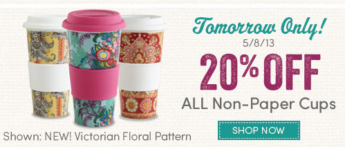World Market 20% Off Beautiful Mugs for Mom