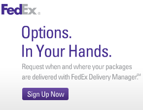 FedEx Delivery Manager: Packages On Your Schedule