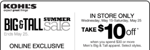 Kohl's Printable Coupon