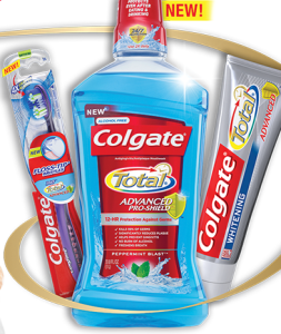 Colgate Total Advanced Free Scenario CVS (5/19)