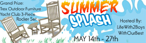 Summer Splash Giveaway 3-Piece Rocker Set (value $1317)