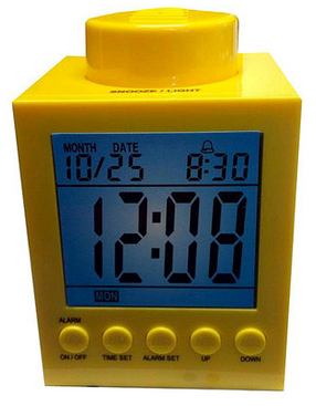 LEGO Alarm Clock $13.99 at Zulily