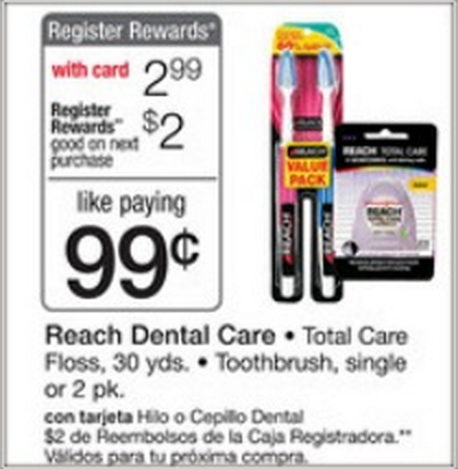 Free Reach Dental Care with New Coupons