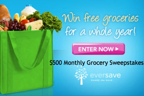 Win Free Groceries For A Year Sweepstakes