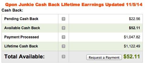 qpon-junkie-cash-back-earnings
