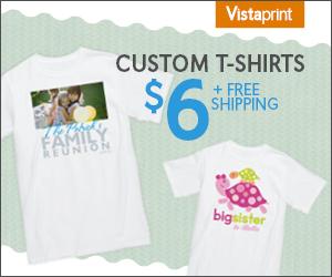 Vistaprint $6 tshirt