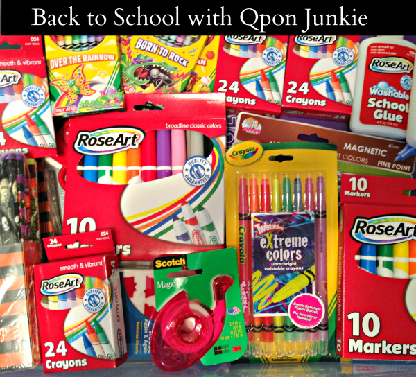 Back to School with Qpon Junkie